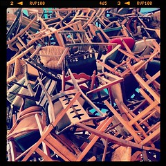 In #abudhabi's emerging museum district, Manarat Al Saadiyat - #art #chairs
