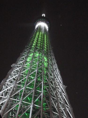 東京スカイツリー 点灯