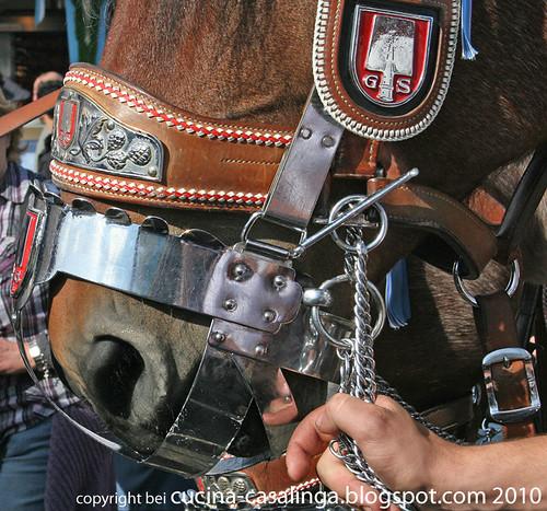 Spaten Pferd