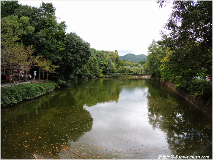 嵐山~小倉池