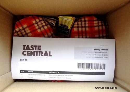unboxing Taste Central