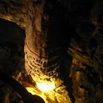 Stalagmite in Howe Cavern
