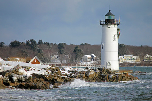 Portsmouth Harbor Lighthouse, New Castle, New Hampshire by nelights