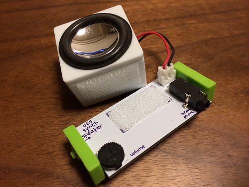 KORG littleBits o24 synth speaker