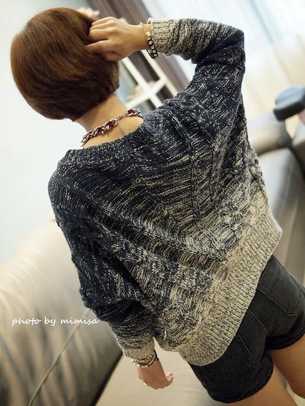 Queen Shop 毛衣 牛仔短褲 (7)