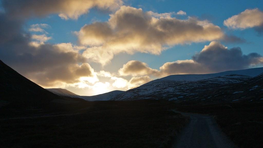 Glen Callater sunrise