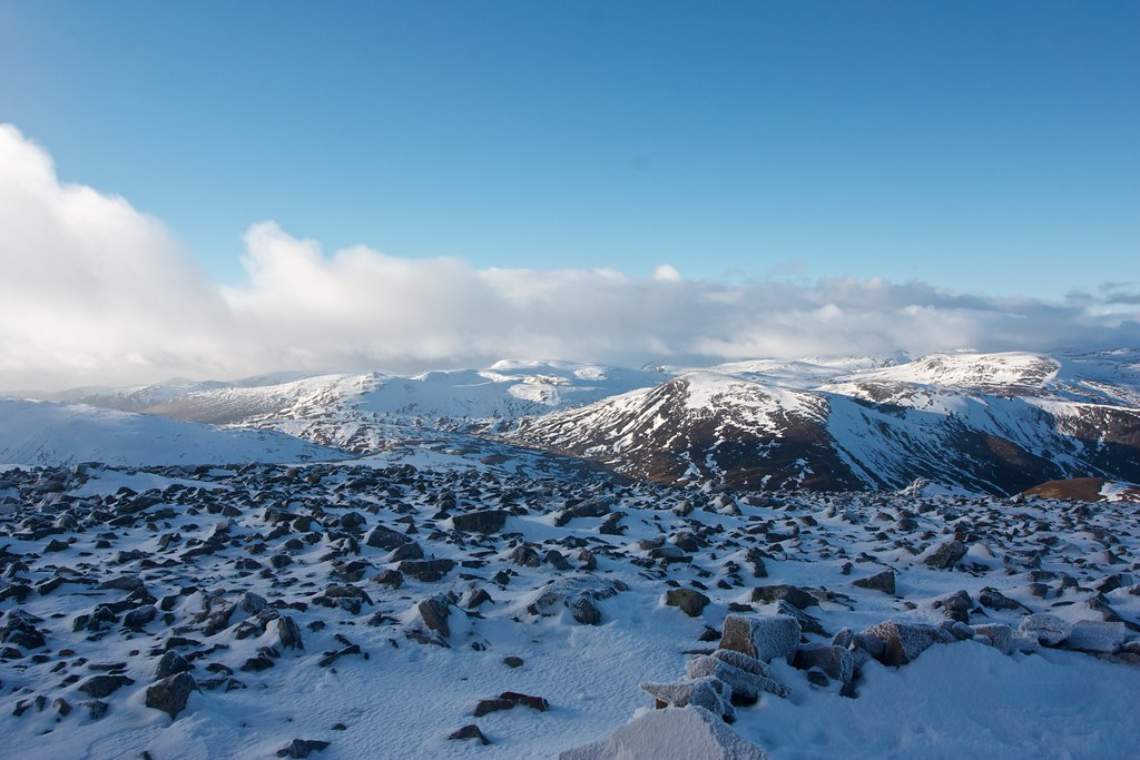 Glenshee from Carn an Tuirc