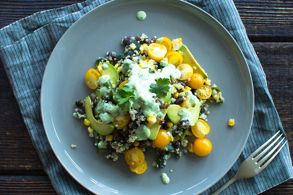 Squash And Quinoa With Cilantro-Lime Dressing Recipes — Dishmaps