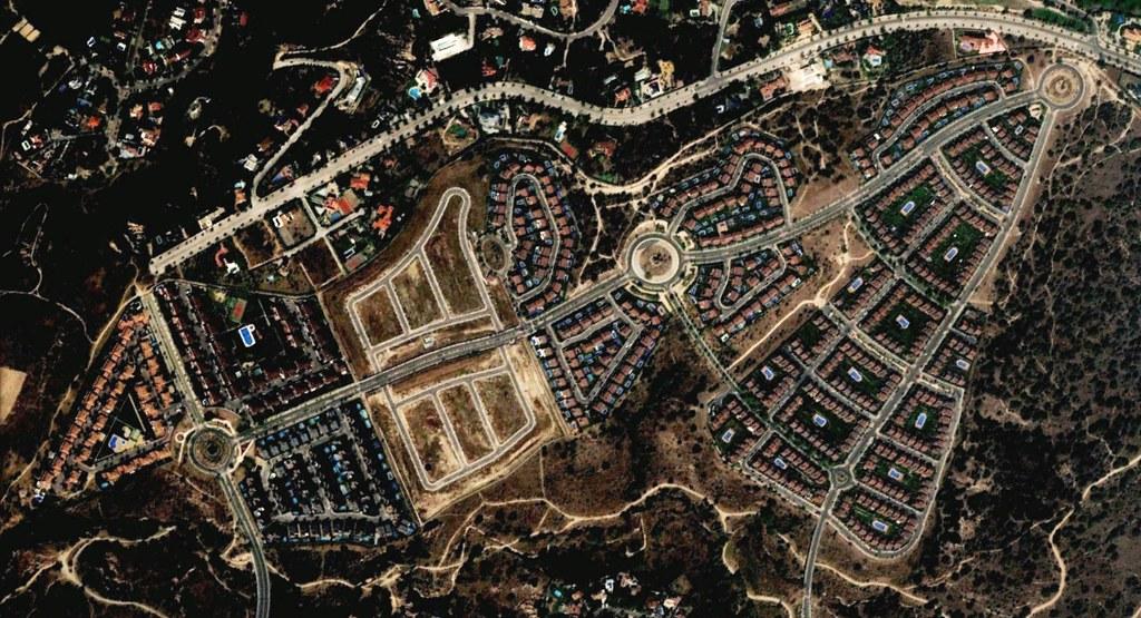 las rozas, el cantizal, las rozas de madrid, madrid, uniendo urbaniezaciones con rotondazas, después, urbanismo, planeamiento, urbano, desastre, urbanístico, construcción, rotondas, carretera