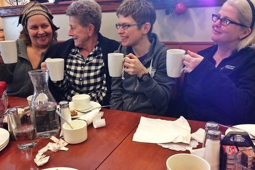 Dottie, Rosella, Monica and Melissa
