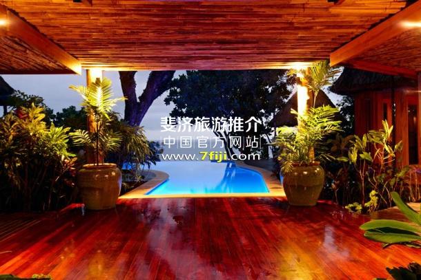 斐济娜妹儿度假酒店(Namale The Fiji Islands Resort & Spa)别墅私人游泳池