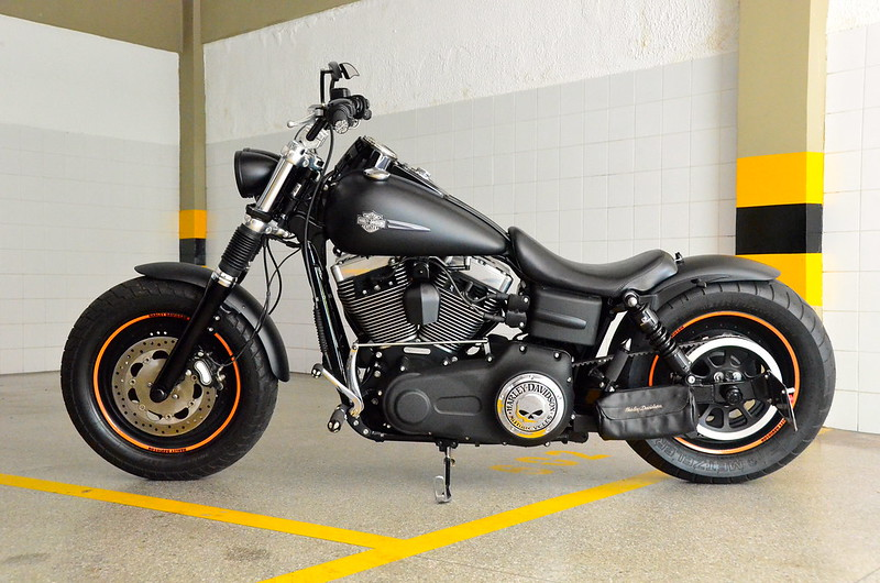 pics of my custom fat bob harley davidson forums. Black Bedroom Furniture Sets. Home Design Ideas