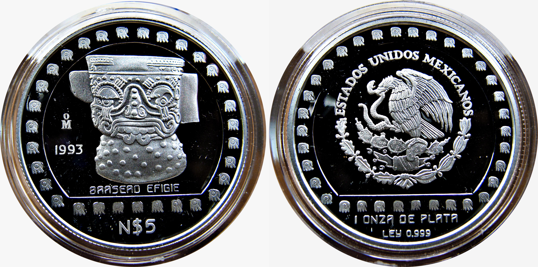 Colección Precolombina de onzas de plata del Banco de Mexico 12124291423_0ea81d68dc_o