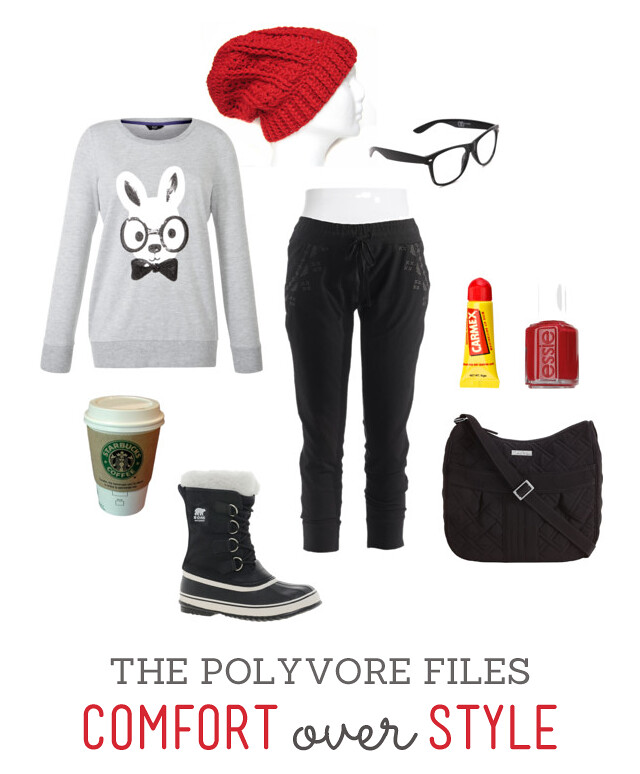 The Polyvore Files - Comfort over Style