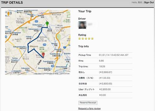 Trip Detail   Uber