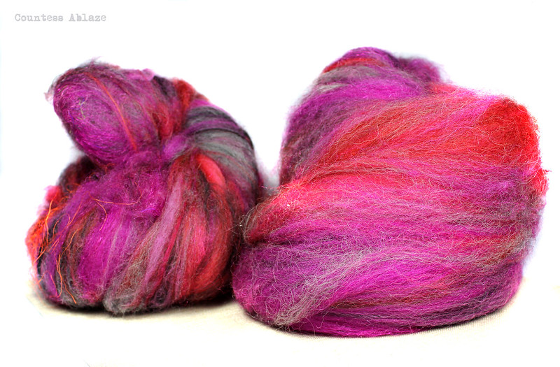Carded fibre batts