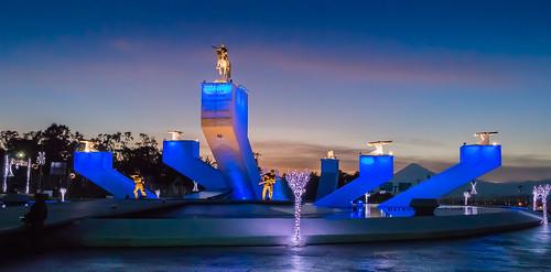 Fuente monumento del Gral. Ignacio Zaragoza. Puebla, Pue.