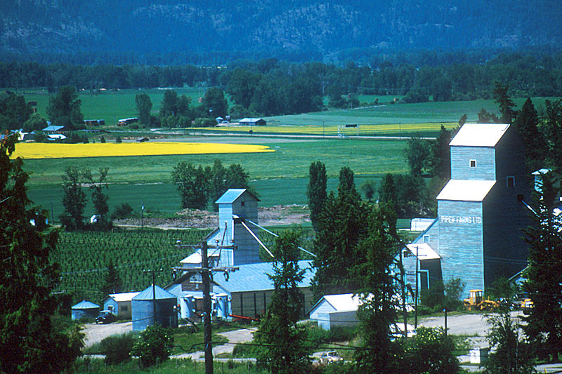 Creston, Creston Valley, Kootenay Rockies, British Columbia, Canada