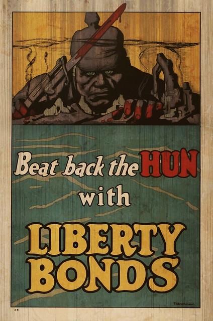 World War One Liberty Bond Poster