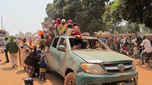 Tens of thousands of Muslims are fleeing the Central African Republic due to retaliatory attacks against their communities by the Anti-Balaka Christian militias. Chad is accused of siding with Muslims. by Pan-African News Wire File Photos