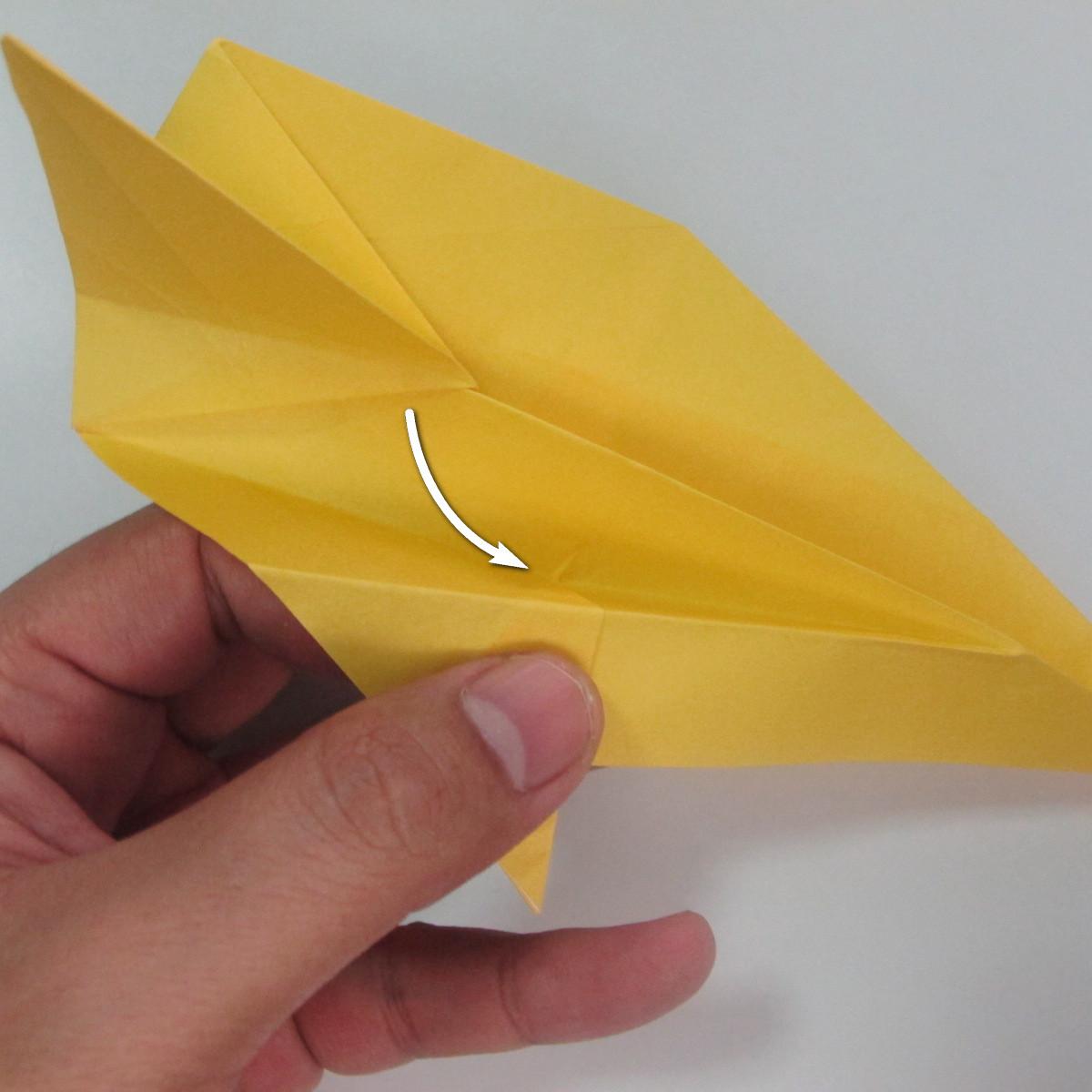 สอนวิธีพับกระดาษเป็นรูปลูกสุนัขยืนสองขา แบบของพอล ฟราสโก้ (Down Boy Dog Origami) 060