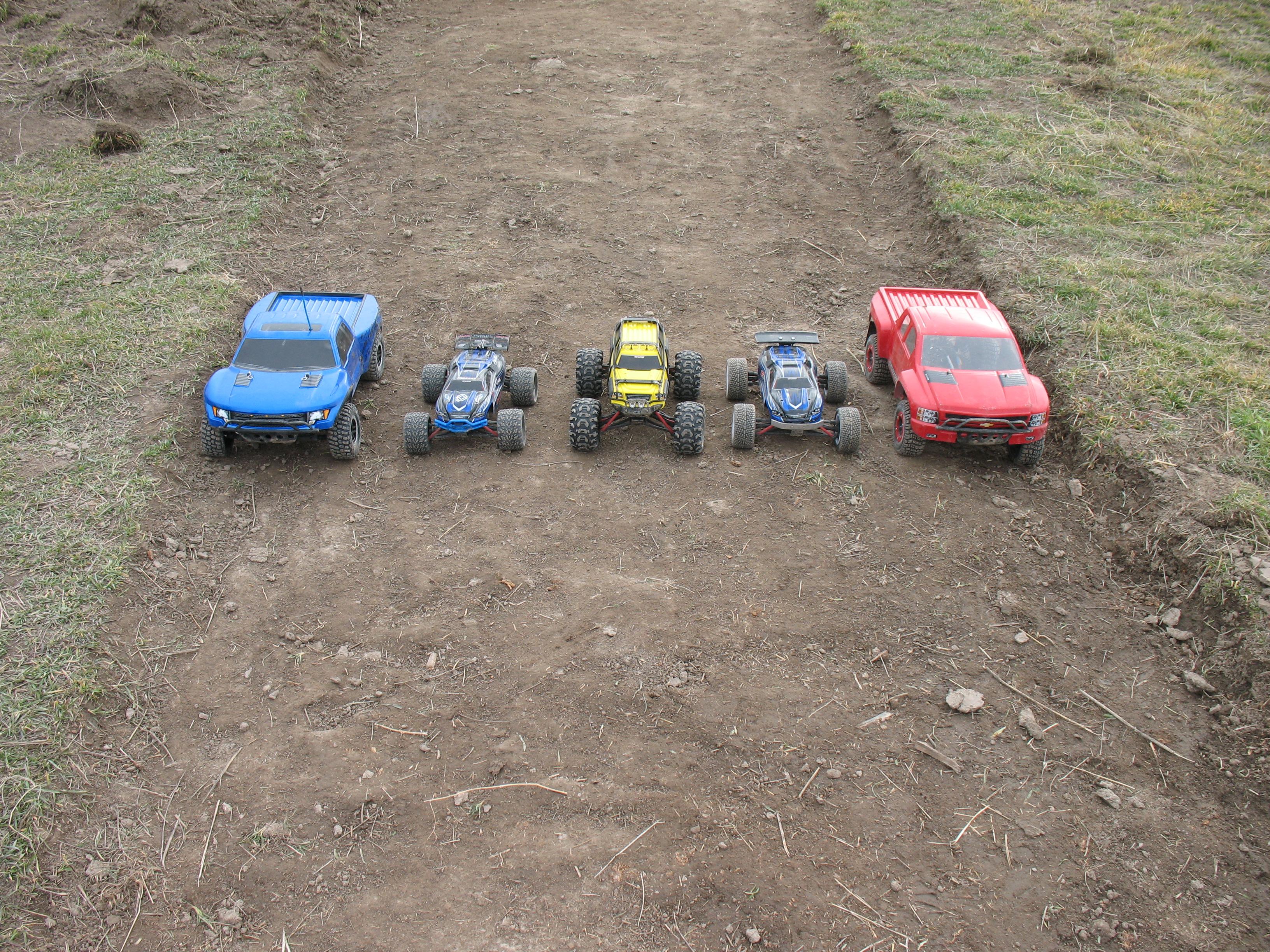Rc Car Track: Our Home Made RC Car Track!