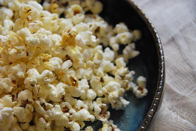 Popcorn au sirop d'érable