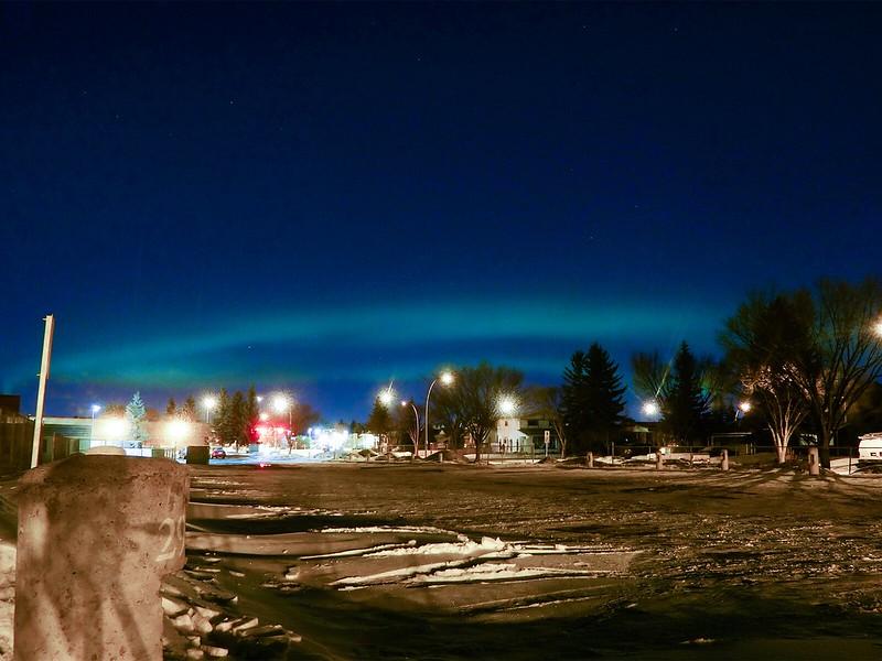 Northern Lights over Calgary