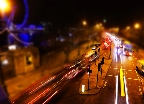 London Light Trails - HSS :) EXPLORED