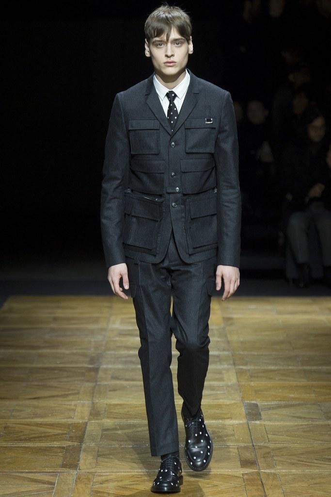 FW14 Paris Dior Homme026_Matthijs Meel(VOGUE)