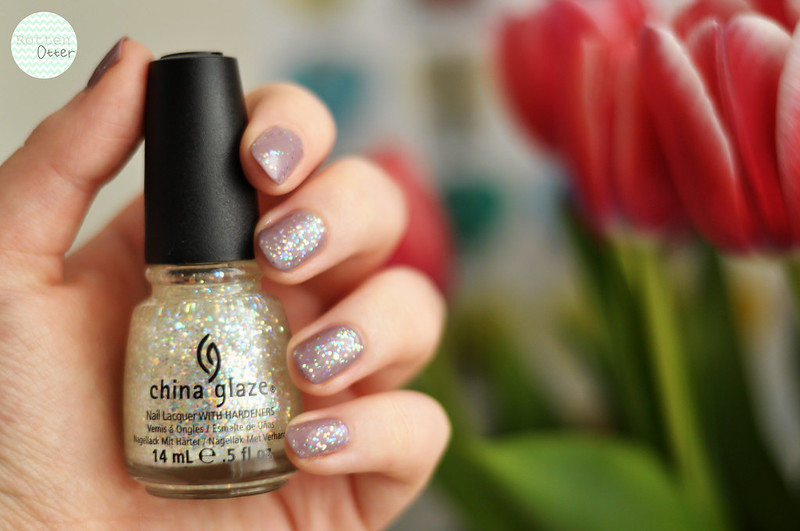notd china glaze snow globe orly you're blushing rottenotter rotten otter blog