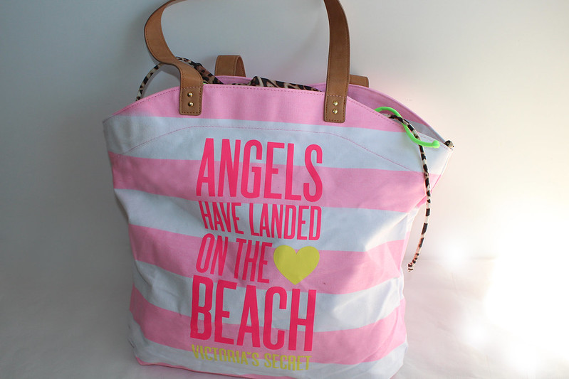 Angels have landed on the beach victorias secret