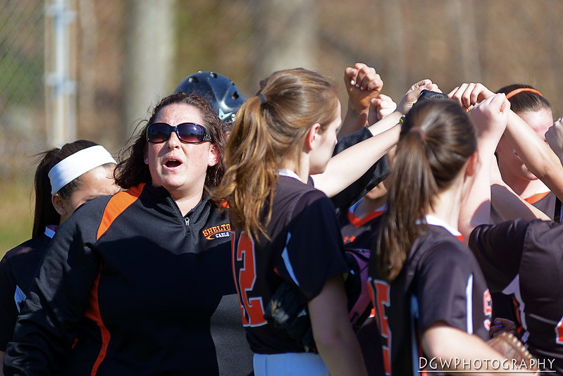Shelton vs Amity High Girls Softball