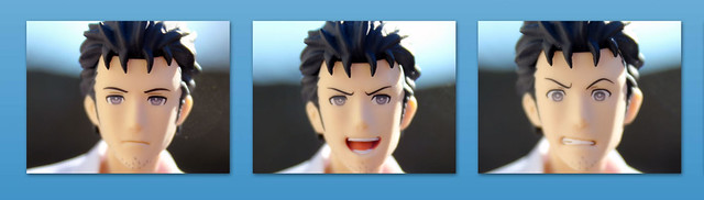 okabe faces