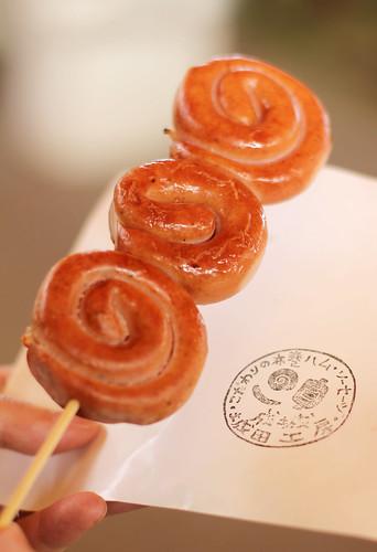 tokyo flea market: sausage