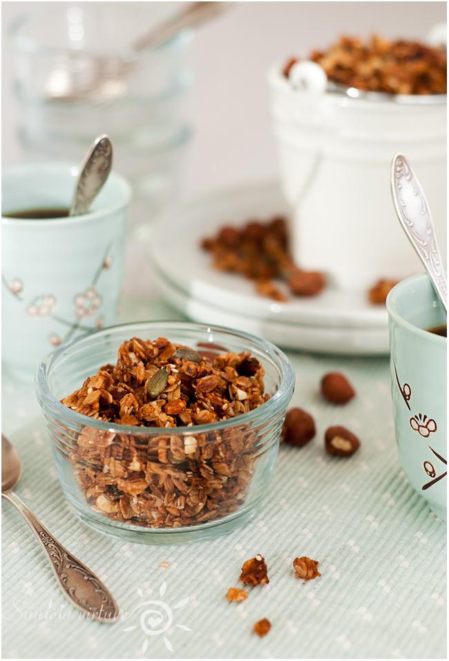Riešutų sviesto granola (4)