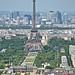 Montparnasse Tower views:  Eiffel Tower ©D&S McSpadden