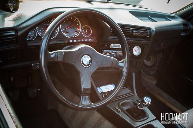 E30 BMW interior