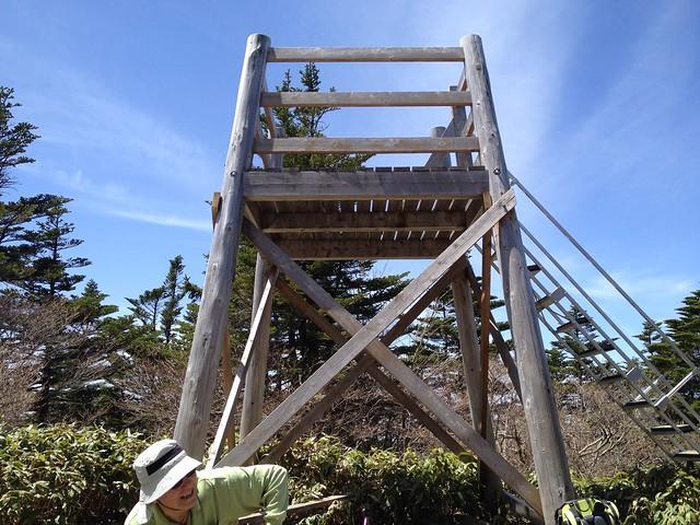 恵那山 山頂展望台