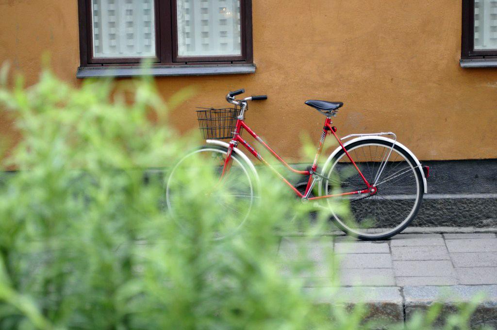 Bicicleta en el SoFo