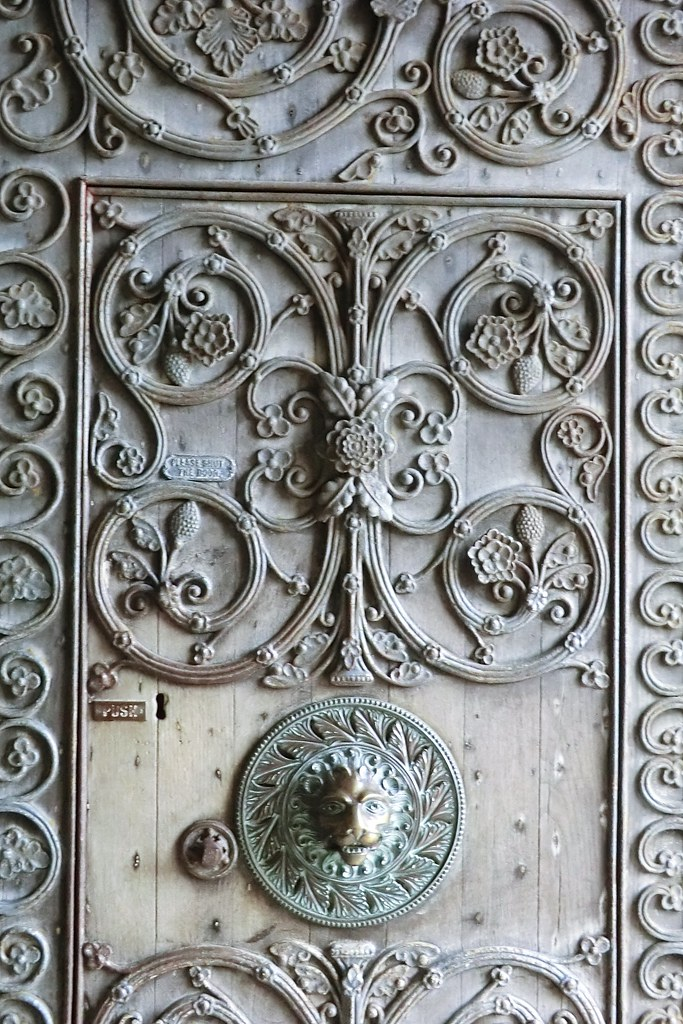 entrance door, The Cathedral of St. John the Baptist