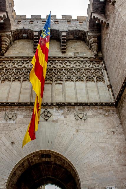 Bandera de la Comunidad Valenciana.