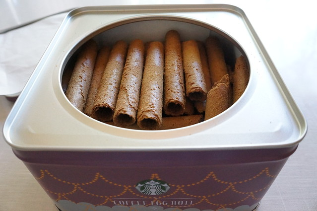 Starbucks Coffee Egg Roll