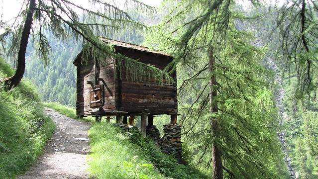 Typical Swiss Hut