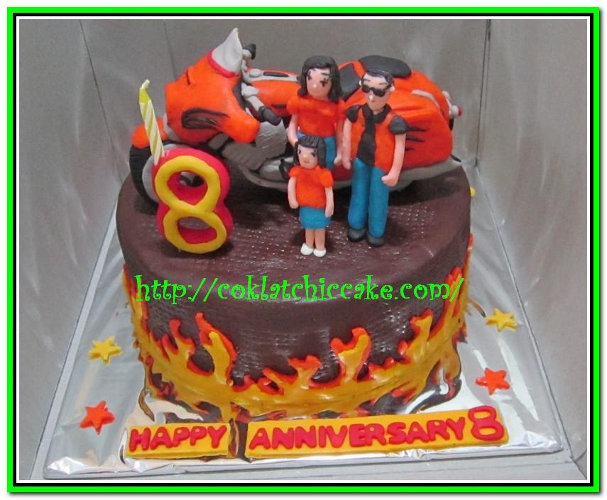 Kue ulang tahun harley davidson