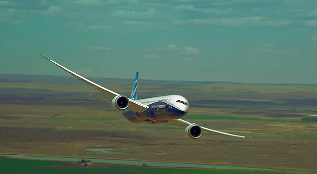 787-9 Dreamliner en Farnborough 2014