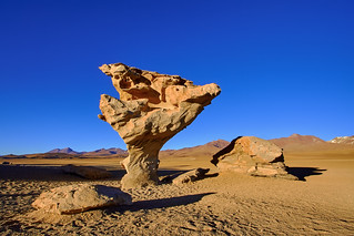 Arbol de Piedra, Bolivia