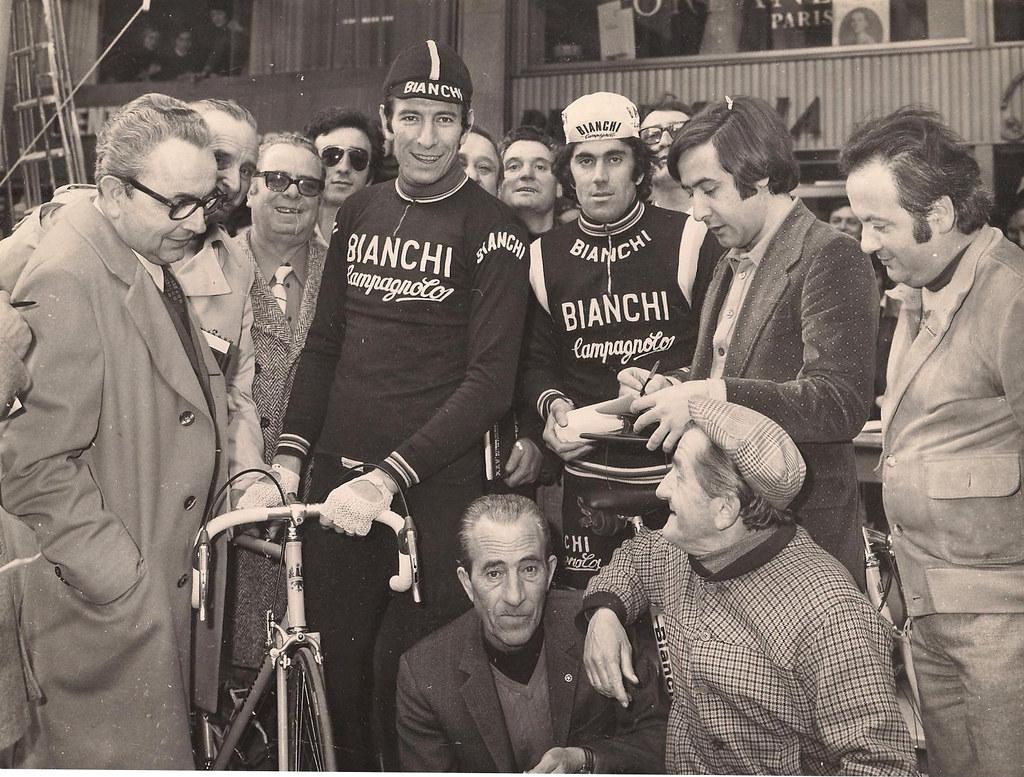 Con Gimondi e Basso (foto gentilmente inviata da Umberto Proni)