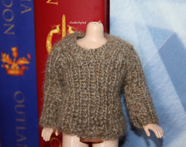 HP sweater, with added collar