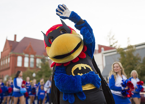 KU Homecoming Parade 2016